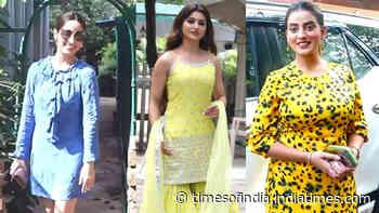#CelebritiyEvenings: From Yami Gautam to Akshara Singh, Bollywood celebs spotted in Mumbai