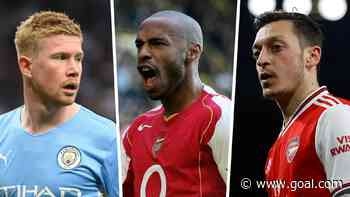 What is the record for most Premier League assists in a season?