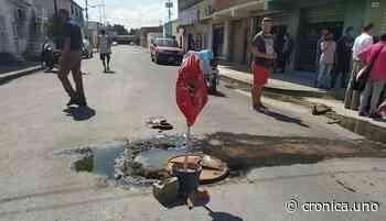 Aguas residuales invadieron casas de los habitantes del barrio San José en Maracay - Crónica Uno