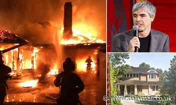 Mysterious inferno destroys $11M Palo Alto mansion tied to Google founder Larry Page