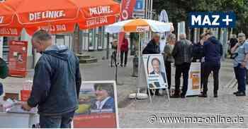 Pritzwalk: Straßenwahlkampf am Markttag - Märkische Allgemeine Zeitung
