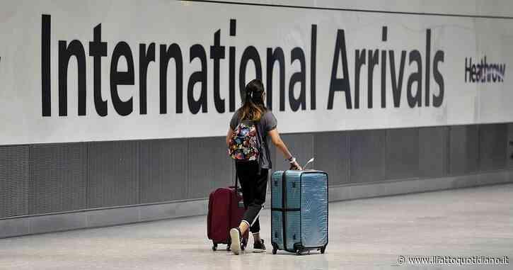 Covid, viaggi da e per l'estero in Gran Bretagna. Chi ha doppia vaccinazione non avrà obbligo di test negativo