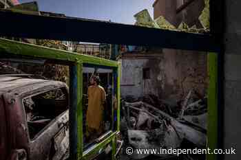 US admits Kabul drone strike killed 10 civilians