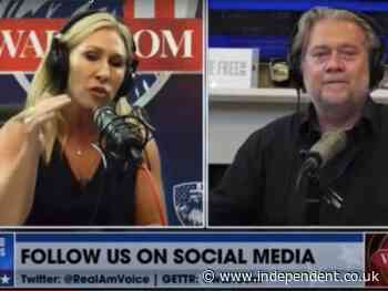 Marjorie Taylor Greene calls to shut down the government in wild Steve Bannon interview