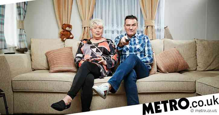 Does Jenny from Gogglebox own the caravan and what does Lee work as?