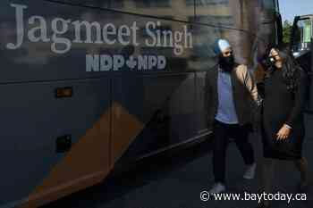 Jagmeet Singh defends NDP climate plan, criticizes Liberal policy