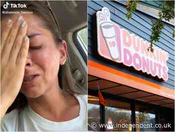 Deaf woman tearfully reveals pandemic struggle saying she was denied service at Dunkin' Donuts because of disability
