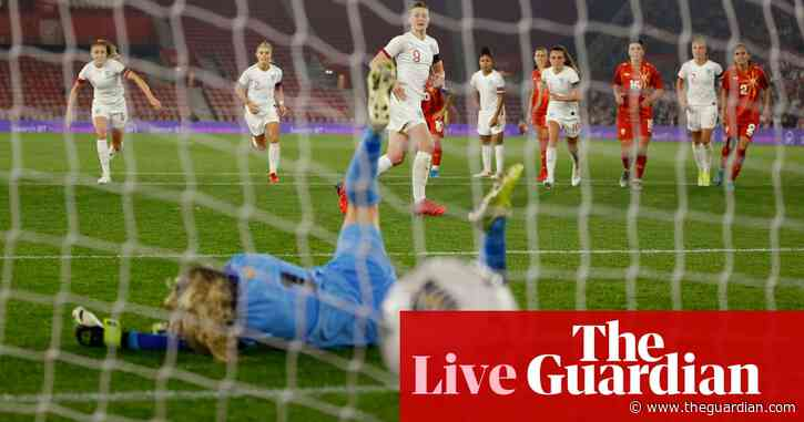 England 8-0 North Macedonia: World Cup 2023 qualifying – as it happened