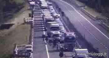 Tolmezzo, lunghe code sull'autostrada A23 per i lavori - Friuli Oggi