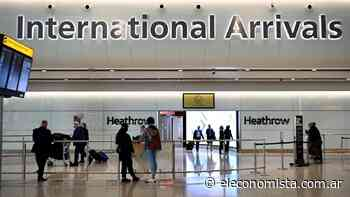 Reino Unido simplificó las reglas de prevención contra el coronavirus para los viajes internacionales - El Economista