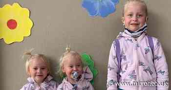 Dad cried out 'is this really happening' after finding bodies of three daughters