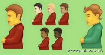 Pregnant man emoji will come to smartphones this year - along with new handshakes
