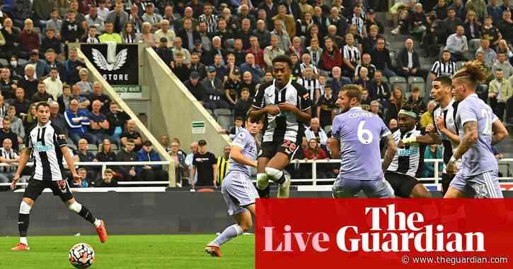 Newcastle United 1-1 Leeds United: Premier League – as it happened