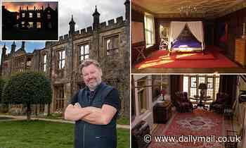 Parnham House went up in smoke in a suspected insurance fraud. Now a music mogul has grand designs