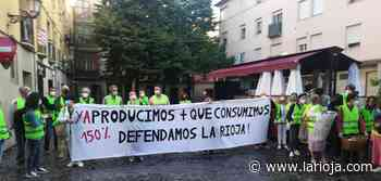 Concentración contra los parques eólicos frente al Parlamento de La Rioja - La Rioja
