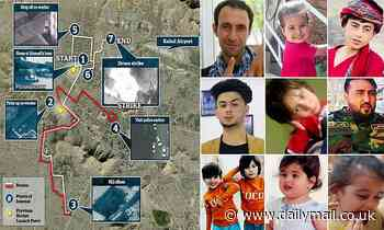 Countdown to death: Minute by minute, how the Pentagon killed innocent aid worker and seven kids