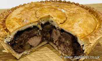 'Truly scrumptious' meat and potato pie wins the British Pie Awards