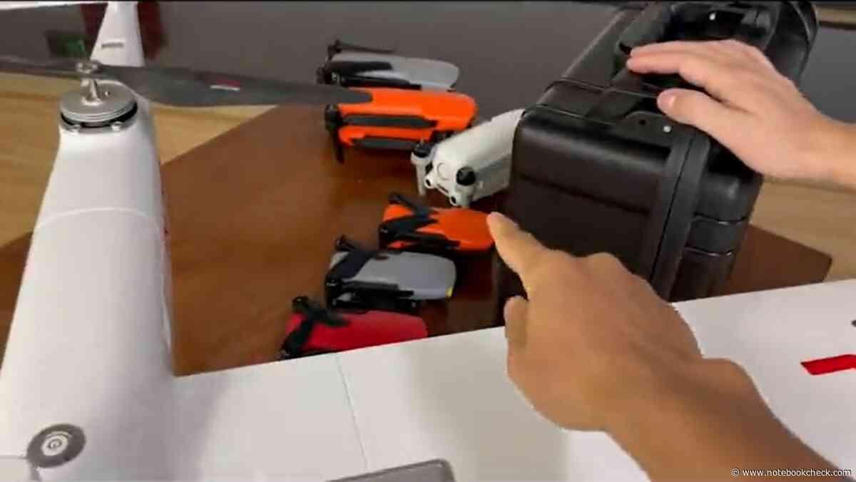 "DJI Mini 3-Vorbote: Video zeigt ""geplanten Leak"" der Autel Nano Mini-Drohne - Notebookcheck.com"