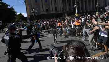 Cops brace for Melbourne lockdown protest - The Flinders News