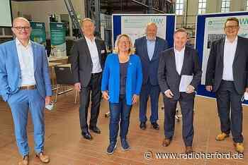 Hoffen auf Anschubfinanzierung für Wasserstoff-Kraftwerk in Kirchlengern - Radio Herford