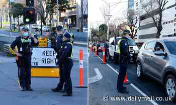 Melbourne cops brace for anti-lockdown protesters to storm the city on Saturday