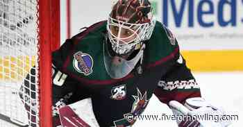 Arizona Coyotes 25 Under 25: #13 Ivan Prosvetov - Five for Howling
