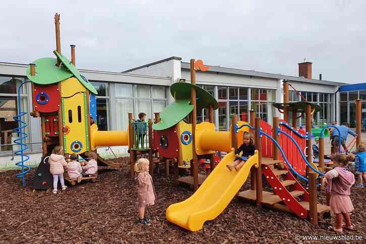 Fonkelnieuwe kleuterspeelzone bij basisschool Driessprong