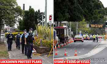 Coronavirus Australia: Hundreds of police out in force to stop Sydney's anti-lockdown protests