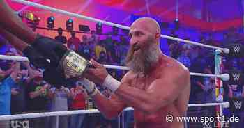 WWE NXT präsentiert neue Wrestler und neuen Champion - SPORT1