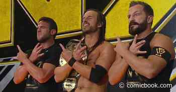 Adam Cole on The Future of WWE NXT Following Its Reboot - ComicBook.com