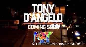 WWE NXT's newest wrestler is named Tony D'Angelo - Russian Machine Never Breaks