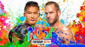 Kushida and Roderick Strong set for NXT Cruiserweight Title showdown - WWE