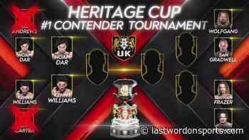 Preview: NXT UK (9/16/21) – NXT UK Tag Team Championship + Kenny Williams vs Noam Dar - Last Word on Baseball