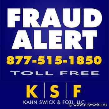 NATIONAL BEVERAGE INVESTIGATION CONTINUED BY FORMER LOUISIANA ATTORNEY GENERAL: Kahn Swick & Foti, LLC Continues to Investigate the Officers and Directors of National Beverage Corp. - FIZZ