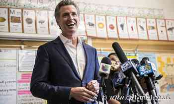 Two of California Gov Gavin Newsom's children test positive for COVID after survived recall effort