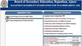 REET 2021: Admit cards released at reetbser21.com, get direct link to download here