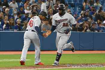 Josh Donaldson homers, Twins down Blue Jays 7-3 in series opener