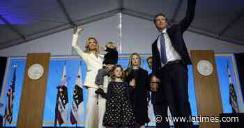 Two of Gavin Newsom's children test positive for coronavirus; the governor has not - Los Angeles Times