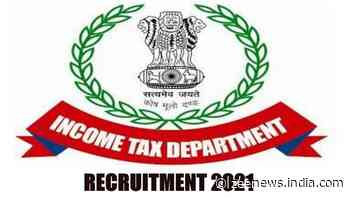 Income Tax Department Recruitment: Vacant posts for Income Tax Inspector, Tax Assistant, Multi-Tasking Staff, check details