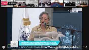 Guadalupe Grajales y Porras cierra contienda por la Rectoría de la BUAP - Urbano | Noticias Mexico - Urbano Puebla