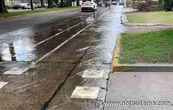Indigna fuga de agua limpia por avenida Guadalupe - Notisistema