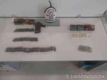 Detectan cartuchos para rifle en puente Tornillo-Guadalupe - Hoy