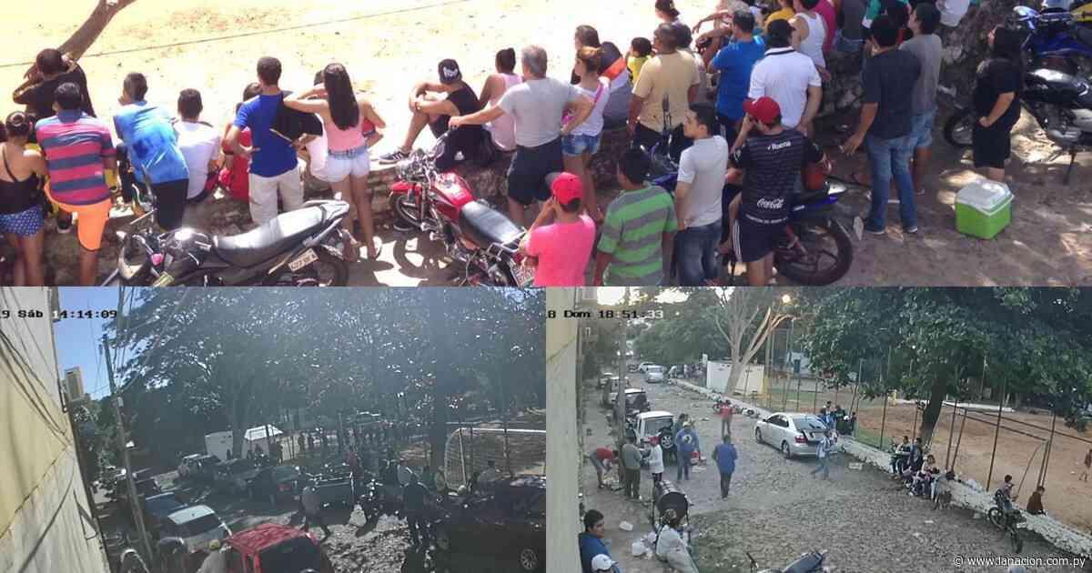 Vecinos de Lambaré sufren pesadilla hace años por uso de plaza para masivo torneo de fútbol - La Nación.com.py