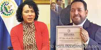 Efrén Bernal, esposo de Carolina Recinos, embajador en Italia - La Prensa Grafica