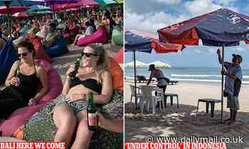 Dig up your Bintang shirt - Aussies set to return to Bali as Indonesia flags reopening the island