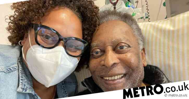 Pele provides update on his health after suffering 'a little step back' following surgery