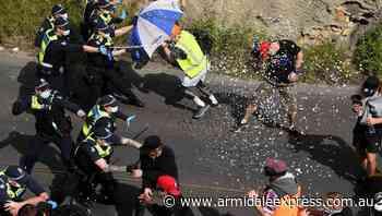 Police arrest 235, 10 injured in protest - Armidale Express