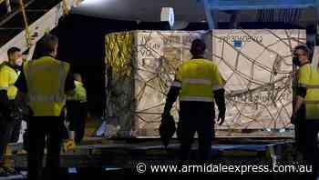 Moderna arrives amid Vic protest warning - Armidale Express