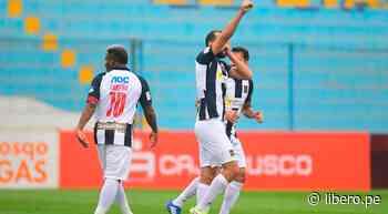 Barcos consiguió su primer doblete con Alianza Lima tras anotar el 2-0 ante Cusco FC - Libero.pe