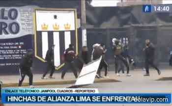 """No aprenden: """"hinchas"""" de Alianza Lima se enfrenaron en las afueras de Matute - Bolavip"""